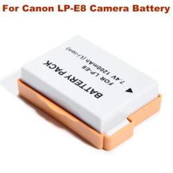 Camera Accessories lp-E8 Digital Camera Battery voor Canon EOS 550D