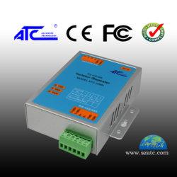 جهاز تكرار بيانات العزل الكهروضوئي المُثبَّت على الجدار من الفئة الصناعية RS-422/485 مع حماية من الارتفاع المفاجئ في درجة الحرارة بقوة 1000 واط (ATC-109N)