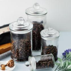 3 Cookie de vidro por grosso de tamanho Jar Jar alimentar pode hermética