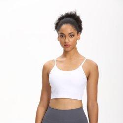 Het Vest van vrouwen plus de Bustehouder van de Grootte met Ondergoed van de Sporten van de Yoga van het Stootkussen van de Borst het Nieuwe