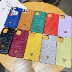 Het krokodille Geval van de Telefoon van de Luxe van de Ontwerper van de Manier van Af:drukken met de Zak van de Kaart voor Maximum iPhone12 12PRO
