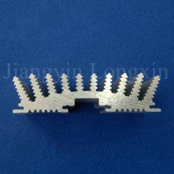 La production anodisé couleur personnalisée Profil en aluminium le dissipateur de chaleur à des fins industrielles