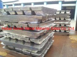 Zinco puro metal lingote fabricados na China com preço baixo