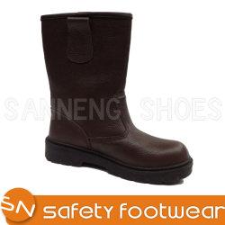 Sanneng zapatos botas de seguridad de invierno con certificado CE S1P+Botas industriales (SN1235)