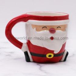 Nuevo diseño de artesanía de cerámica taza de leche Café de las decoraciones de Navidad