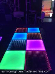 Één Seconde om de Gebeurtenis die van het Stadium te installeren van de Disco Draadloze Magnetische LEIDEN van de Controle DMX Dance Floor aansteken