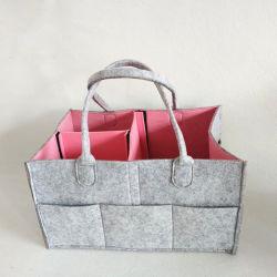 Grande multifuncional sentir da capacidade de armazenamento da fralda bag bolsa