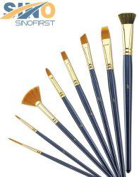 Verschiedene Form-unterschiedliches Haar-Künstler-Pinsel-Set für Farbanstrich