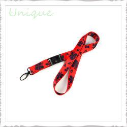 Высокого качества на заводе Custom жаккард строп предохранительного пояса ленты с собакой Clip и пластмассовый держатель логотипа для плат плечевой лямки ремня безопасности