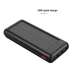 L'énergie solaire Chargeur solaire portable 24000mAh Outdoor Chargeur d'alimentation mobile