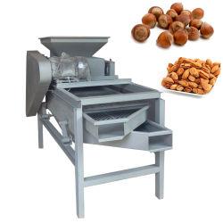 As porcas do peeling de amêndoa Cracker Sheller Rachando bombardeio quebrando a máquina