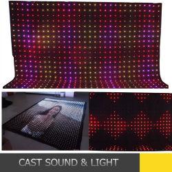 カスタマイザ適用範囲が広いLEDのビデオカーテンの表示画面