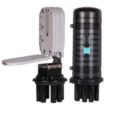 Retrácteis tipo cúpula Fibra Óptica Gabinete de fecho de fibra óptica para o Gabinete de cabo óptico de distribuição