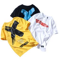 بالجملة عالة تصميم علامة تجاريّة [أونيسإكس] نساء جدي أكبر من المعتاد لباس يطرق سهل فارغة قمزة [أم] [أدم] نمو أبيض 100% قطر [ت] قميص [أ-شيرت] طباعة