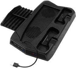 قاعدة شحن مروحة التبريد من Amazon Hot PS5 على وحدة التحكم Byit 2021 حامل عمودي لـ Playstation 5 PS5 Game Accessories شاحن وحدة التحكم المحطة