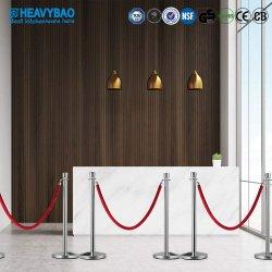 Heavybao Hotel-Sicherheits-Masse-Steuereinziehbare Riemen-Warteschlange-Sperren/Pfosten/Standplatz