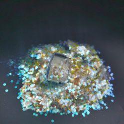 مبيعات مباشرة من المصنع حرفة سائقة بالجملة السعر عاكسة ثلاثية الأبعاد مضلع ملونة مخصصة لعيد الحب نقّال فضلات لزينة الجسم