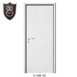 رخيصة غرفة نوم تصميم متأخّر داخليّ أبيض [بفك] يكسى [مدف] باب