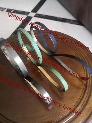 حزام من الفولاذ المقاوم للصدأ لانهائي لصناعة الأنابيب البلاستيكية والبلاستيكية المصنوعة من الألومنيوم