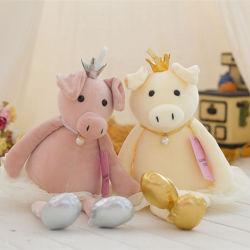 Ins Crown Balé Boneca de suínos criança perna longa travesseiro de suínos Peluche