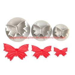 공구를 꾸미는 나비 모양 퐁당 케이크 과자 Sugarcraft 플런저 절단기 형 공구 크리스마스 케이크