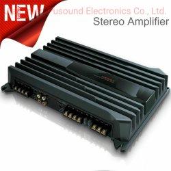 Amplificateur 4 canaux de 1000W amplificateur audio de voiture avec deux MOSFET Ridelle 70WX4CH