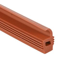 Pakking op hoge temperatuur van de Verbinding van het Silicone van het Bewijs de Rubber in Verschillende Kleuren voor Deur