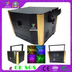 8W Fase Discoteca Animação RGB luz laser