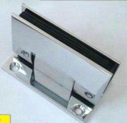Dobradiça do vidro cromados de latão fixo de vidro dobradiça de Fechamento