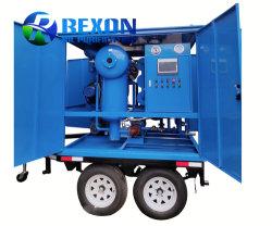 Aceite de transformadores de la planta depuradora de móviles con doble sistema de bombeo de vacío