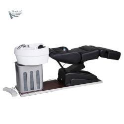 高品質の理髪のシャンプーは議長を務める電気のベッド横たわるボール(09C02-1)が付いているシャンプーの