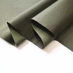 Taffeta poliéster revestidos de tecido de PVC para toalhas de mesa