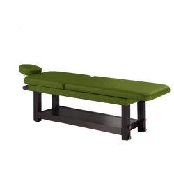 طاولة تدليك خشبية ساخنة طاولة تدليك مائية وسرير تجميل وجه كهربائي