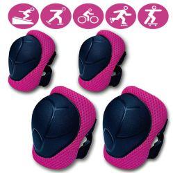 Comercio al por mayor 6pzas Kids/rodilla codo muñeca pastillas de guardia para patines Deportes Protección