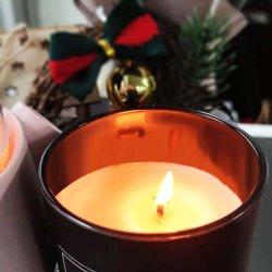 Bougie d'aromathérapie Grande bocal bio bougies parfumées pour une aromathérapie relaxante