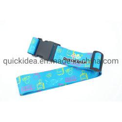 Transferencia de calor personalizado el logotipo impreso las correas de equipaje Correa maleta