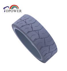 Codice 105454 15X5 stampato su gomma industriale per pneumatici solidi Ruota per sollevamento a forbice piattaforma di lavoro aerea