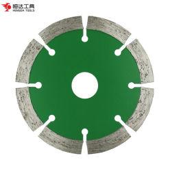 """Mejor Venta de 4"""" pulgadas 105mm caliente Diamante Recorte de prensa Hoja de sierra circular de piedra de granito"""