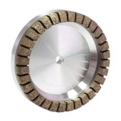 Muelas de Diamante segmentado sintetizado en la máquina de vidrio