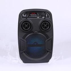 De openlucht AudioSpreker van de Correcte Doos van de Spreker Subwoofer Draagbare Plastic Bluetooth