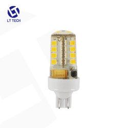 Lt104W2 3W 270lm 저전압 12V AC/DC 실리콘 T10 웨지 실외 가로수 정원 야드길 잔디 조명용 LED 전구