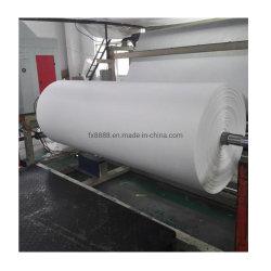 Filtragem de poliéster Nonwoven com vínculo Química Nonwoven Fabric para filtro de ar condicionado
