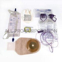 Je l'URINE DRAINAGE pédiatrique Delux urostomie mètre SAC SAC SAC d'alimentation de lavement colostomie sac Ziplock Tablet spécimen de sang de stérilisation sac de déchets médicaux