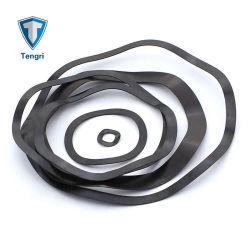 GB955 Kohlenstoffstahl-Wellen-einzelne Schraubenfeder-Federringe