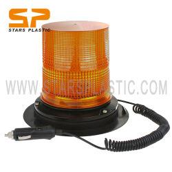 LED標識360度の適用範囲のMuli機能シガーのプラグが付いている警告のストロボ標識のこはく色の警告ランプ