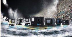 Câmara de acção 4K Sport Mini câmara Mergulho WiFi 30m Câmara de acção