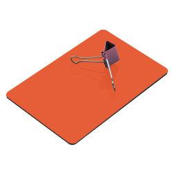PE/ПВДФ покрытие Алюминиевый композитный материал глянцевая оранжевого цвета