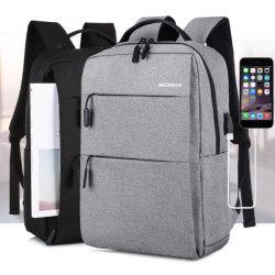 Zaino su ordine di affari di congresso del doppio di spalle del sacchetto del sacchetto casuale del computer portatile