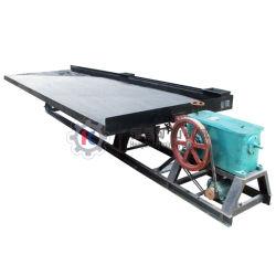 El procesamiento de minerales de la gravedad de la planta concentradora separador mesa vibradora Vibrador Oro Tocador