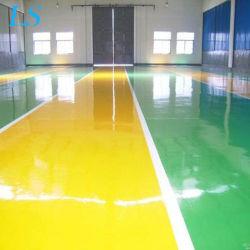 Amazing resina epóxi à base de óleo de revestimento de piso resistente a arranhões